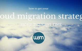 cloud migration strategy right the first time
