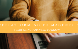 replatforming to magento 2